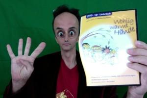 4. Cd/DVD Wohlig warme Hände 2008 Cd und DVD und Liederbuch von Dor Doggi Sing`